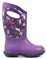 Bogs York Bunny Purple Boots