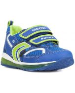 Geox Todo Royal Lime Trainers