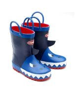 Chipmunks Jaws Blue Wellingtons