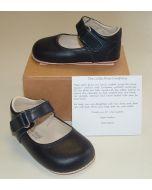 Ickle Shooz Classic Navy Mary Jane Pram Shoes