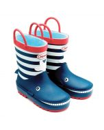 Chipmunks Moby Navy Wellingtons