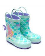 Chipmunks Splash Aqua Wellingtons