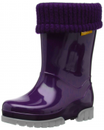 Toughees Term Lined Wellingtons Purple
