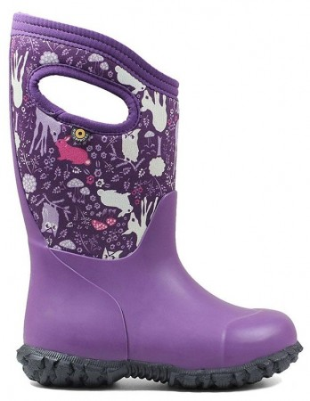 Bogs York Bunny Purple Boots