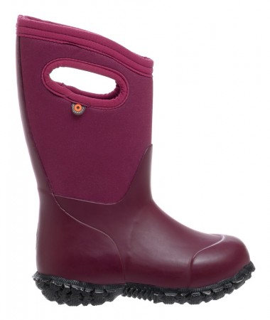 Bogs York Solid Plum Boots