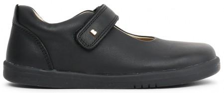 Bobux I-walk and Kid+ Delight Black School Shoes