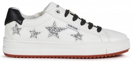 Geox Rebecca J02BDB White Shoes