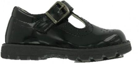 Primigi 6411000 Black Patent T-bar Shoes