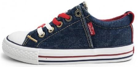 Levis Original Low Denim Canvas Shoes