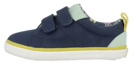 Gioseppo Smith Navy Blue Canvas Shoes