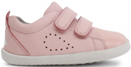 Bobux Step Up Grass Court Seashell Pink Shoes