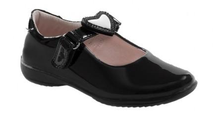 Lelli Kelly Colourissima LK8400 Black Patent School Shoes
