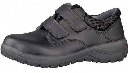 Ricosta Jack Black Leather School Shoes