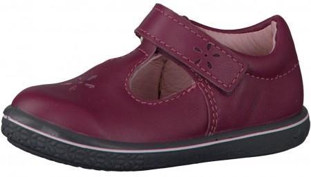 Ricosta Pepino Winona Fuchsia T-bar Shoes
