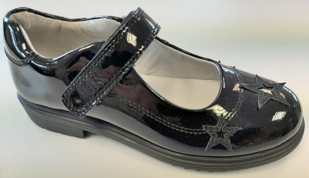 Lelli Kelly Dara LK8274 Black Patent School Shoes