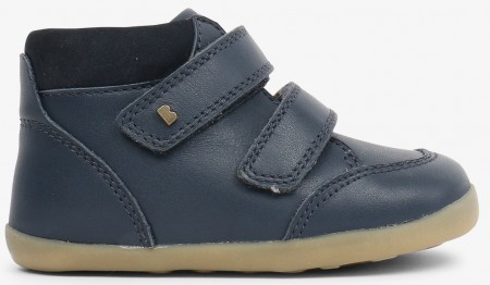 Bobux Step Up Timber Navy Boots