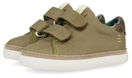 Gioseppo 44048 Taupe Canvas Shoes