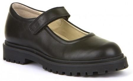 Froddo G3140114 Black Leather School Shoes