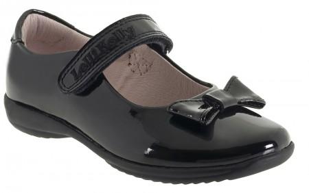Lelli Kelly Perrie LK8206 Black Patent F Fitting School Shoes