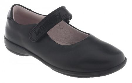 Lelli Kelly Classic LK8218 Black Leather School Shoes