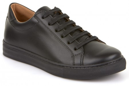 Froddo G4130059 Black Leather School Shoes