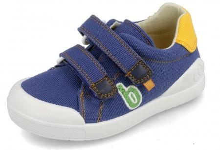 Biomecanics 202228-A Blue Canvas Shoes