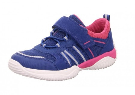 Superfit Storm 6383-81 Blue Pink Trainers