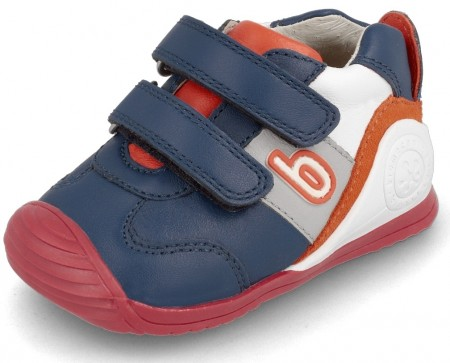 Biomecanics 202148 Navy Red Trainers