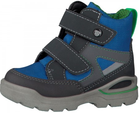 Ricosta Pepino Friso Grey Royal Blue Sympatex Waterproof Boots