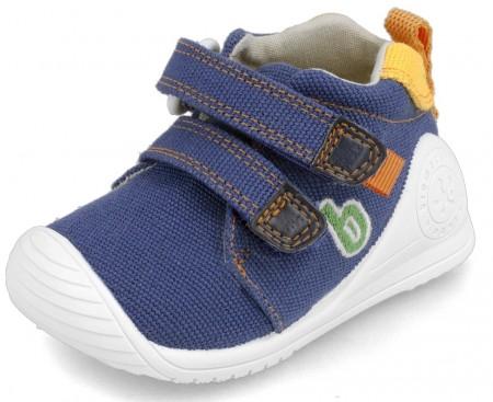 Biomecanics 202212-A Blue Canvas Shoes