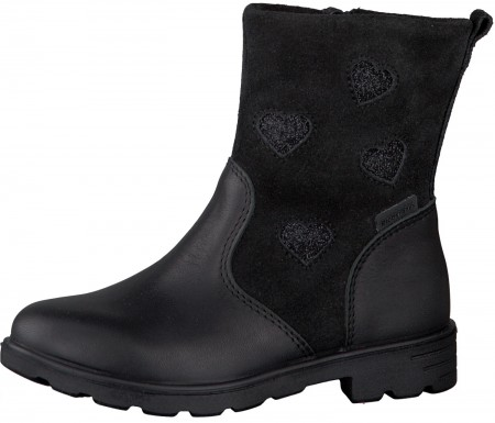 Ricosta Stephanie Black RicostaTex Waterproof Boots