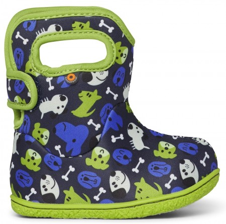 Baby Bogs Puppies Blue Boots