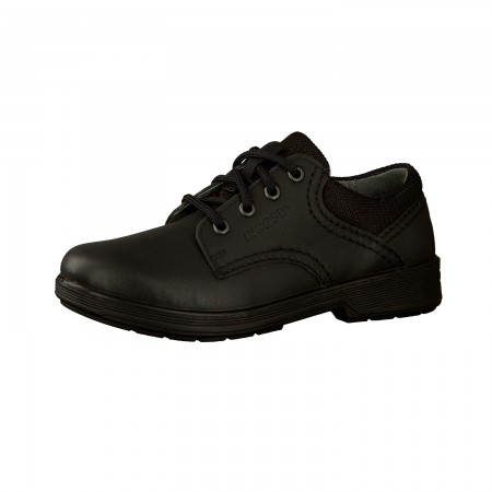 Ricosta Harry Black Leather School Shoes