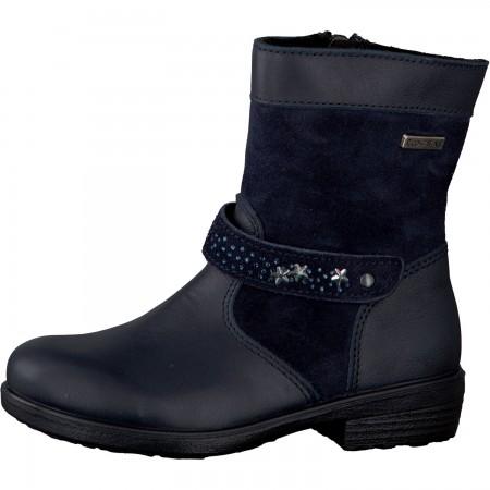 07040085d8f Ricosta Molly Navy RicostaTex Waterproof Boots - Little Wanderers