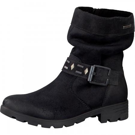 Ricosta Rena Black Waterproof Boots