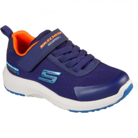 Skechers Dynamic Tread Blue Waterproof Trainers