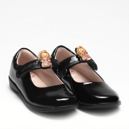 Lelli Kelly Prinny LK8215 Black Patent School Shoes