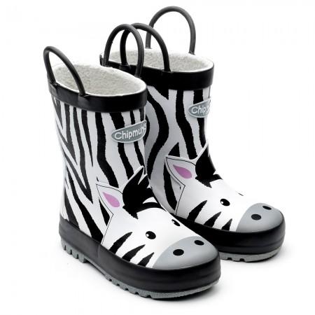 Chipmunks Zola Zebra Wellingtons