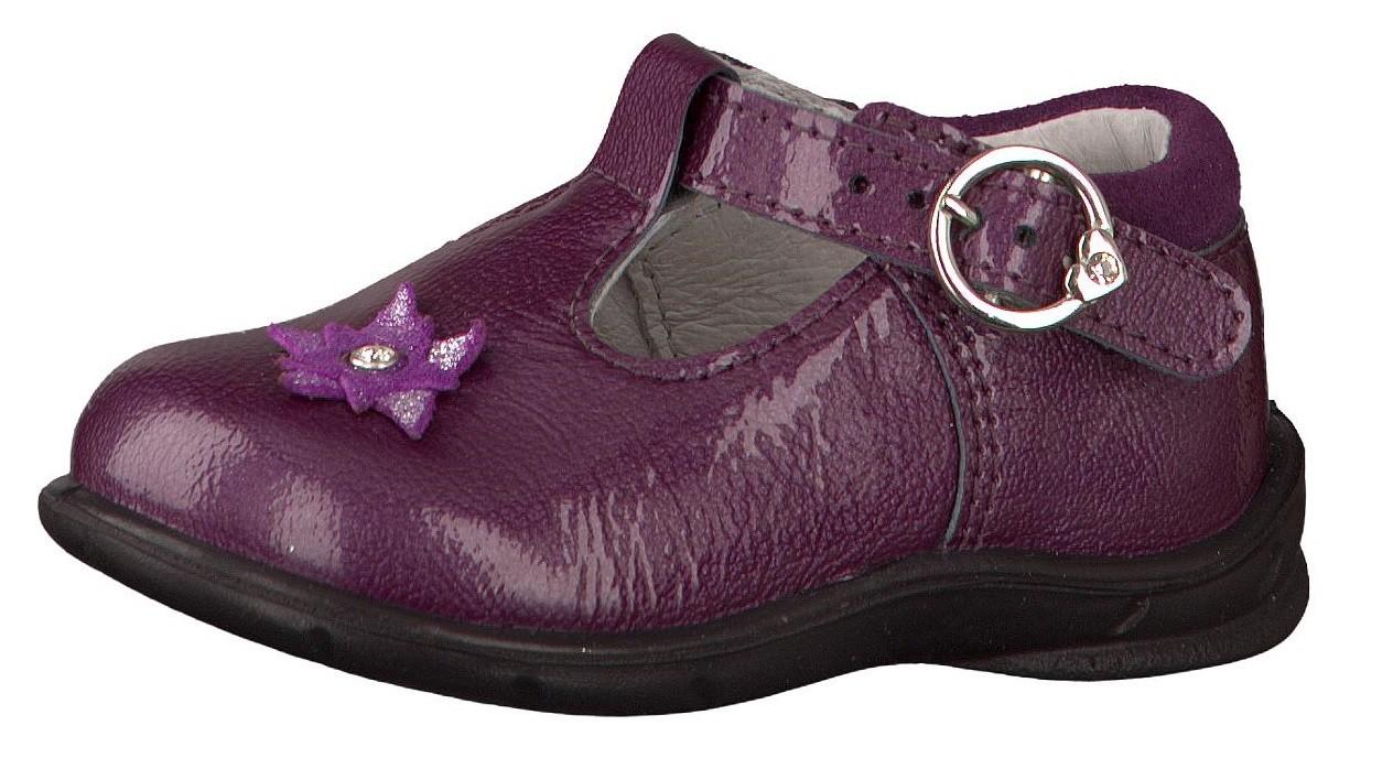 Froddo Purple T Bar Shoes Uk