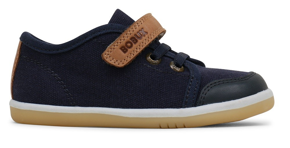 Bobux Relax and Chill Navy Blue Canvas