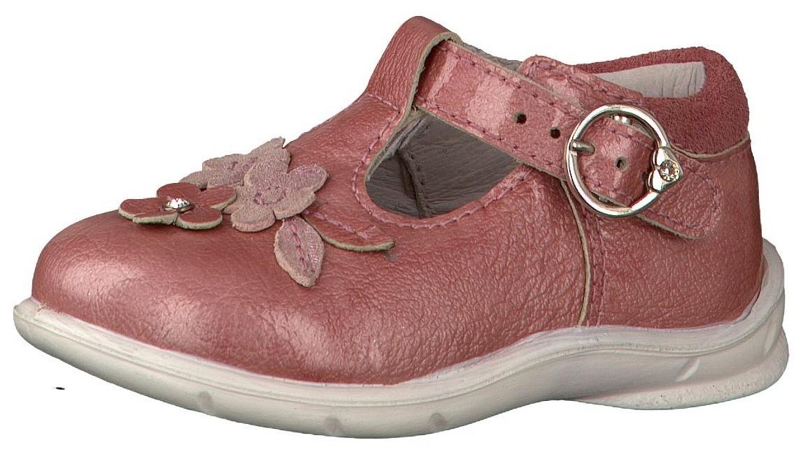 ricosta pepino winsy pale pink patent t bar shoes
