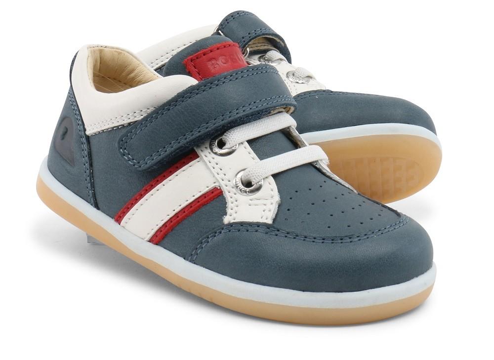 Bobux I Walk Racer Airforce Blue Shoes Little Wanderers