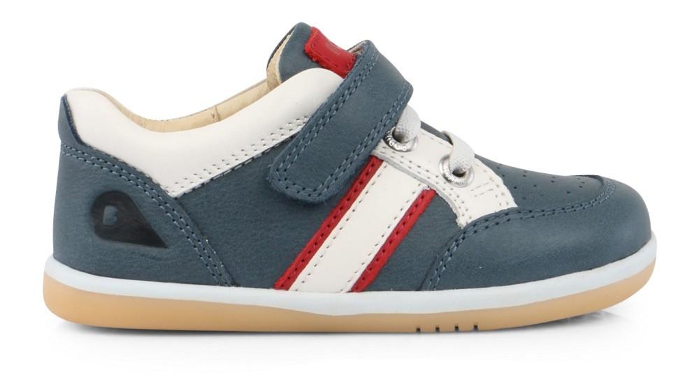 Bobux I-walk Racer Airforce Blue Shoes - Little Wanderers