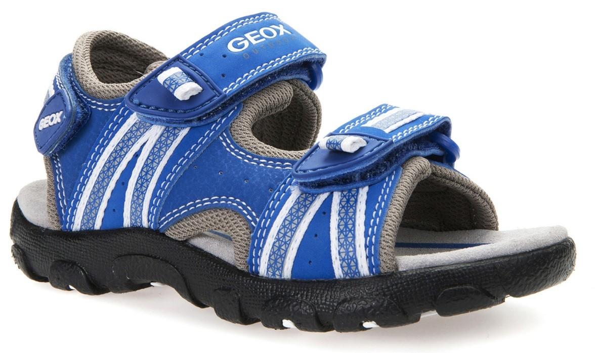 Geox Strada Royal Blue Sandals Geox Kids Shoes Little