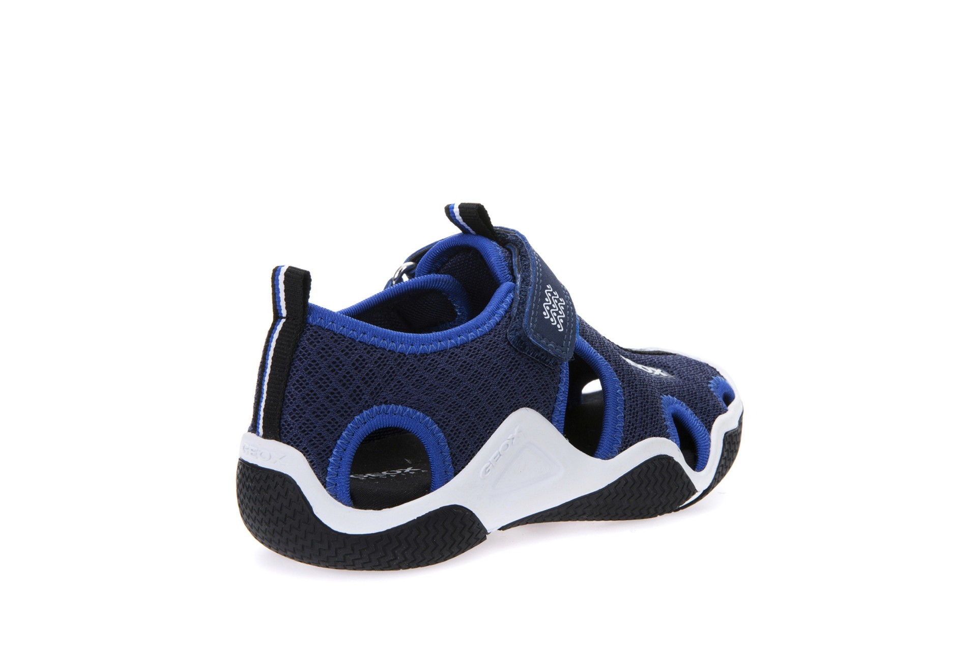 Geox Wader Navy Blue Sandals Geox Kids Shoes Little