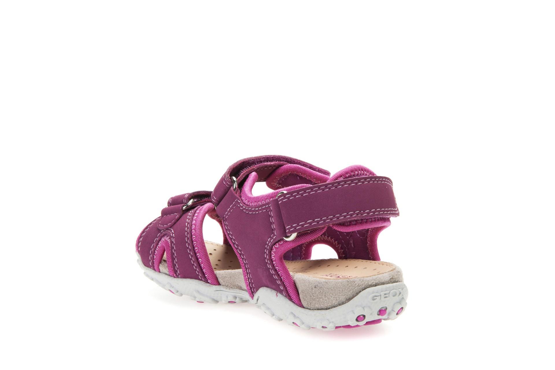 Geox Roxanne Fuchsia Sandals Geox Kids Shoes Little