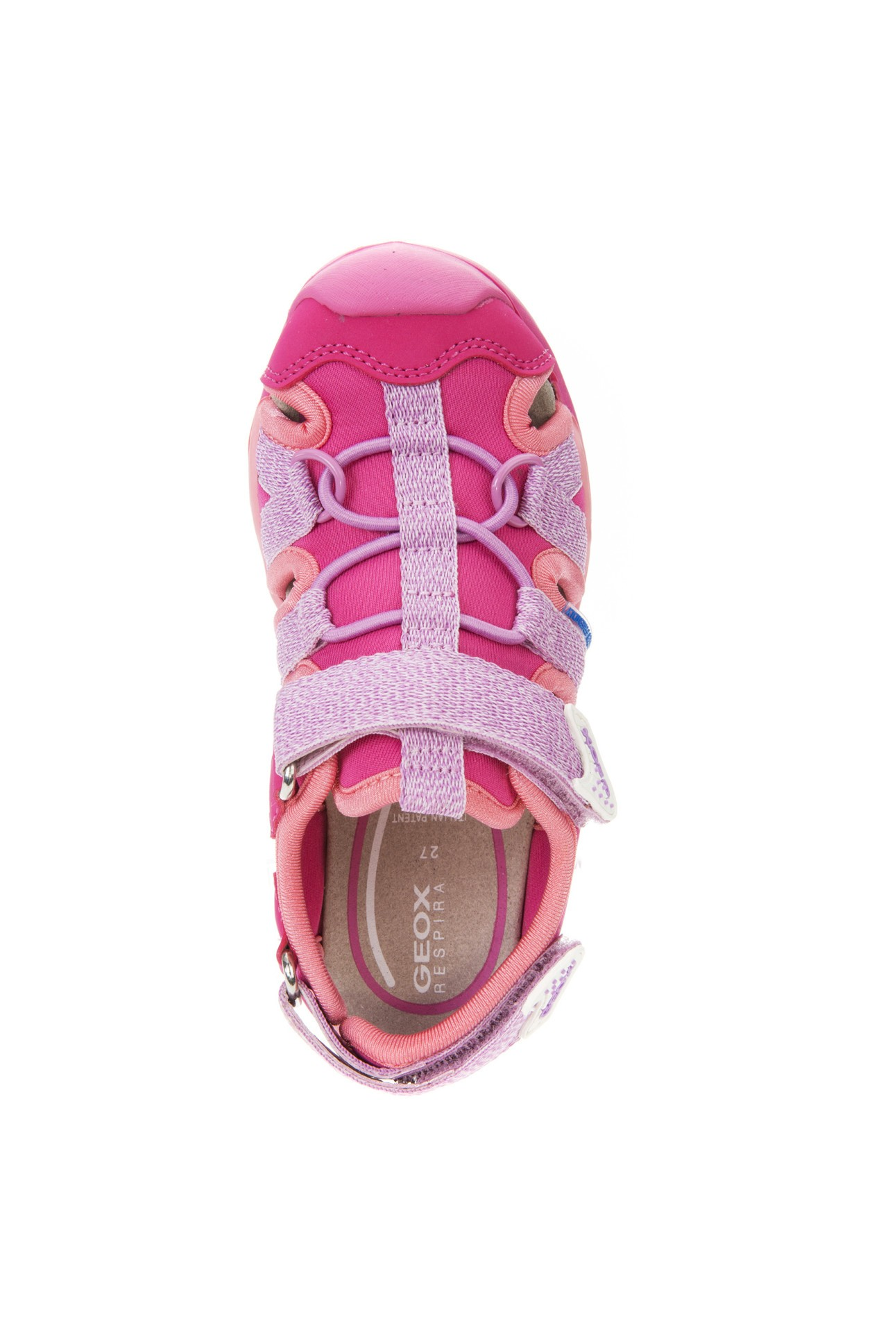 Geox Borealis Lilac Pink Sandals Geox Kids Shoes