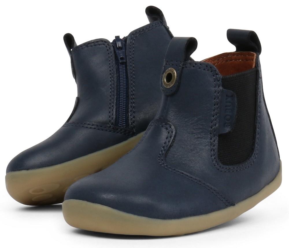 Bobux Step Up Jodphur Navy Boots Little Wanderers