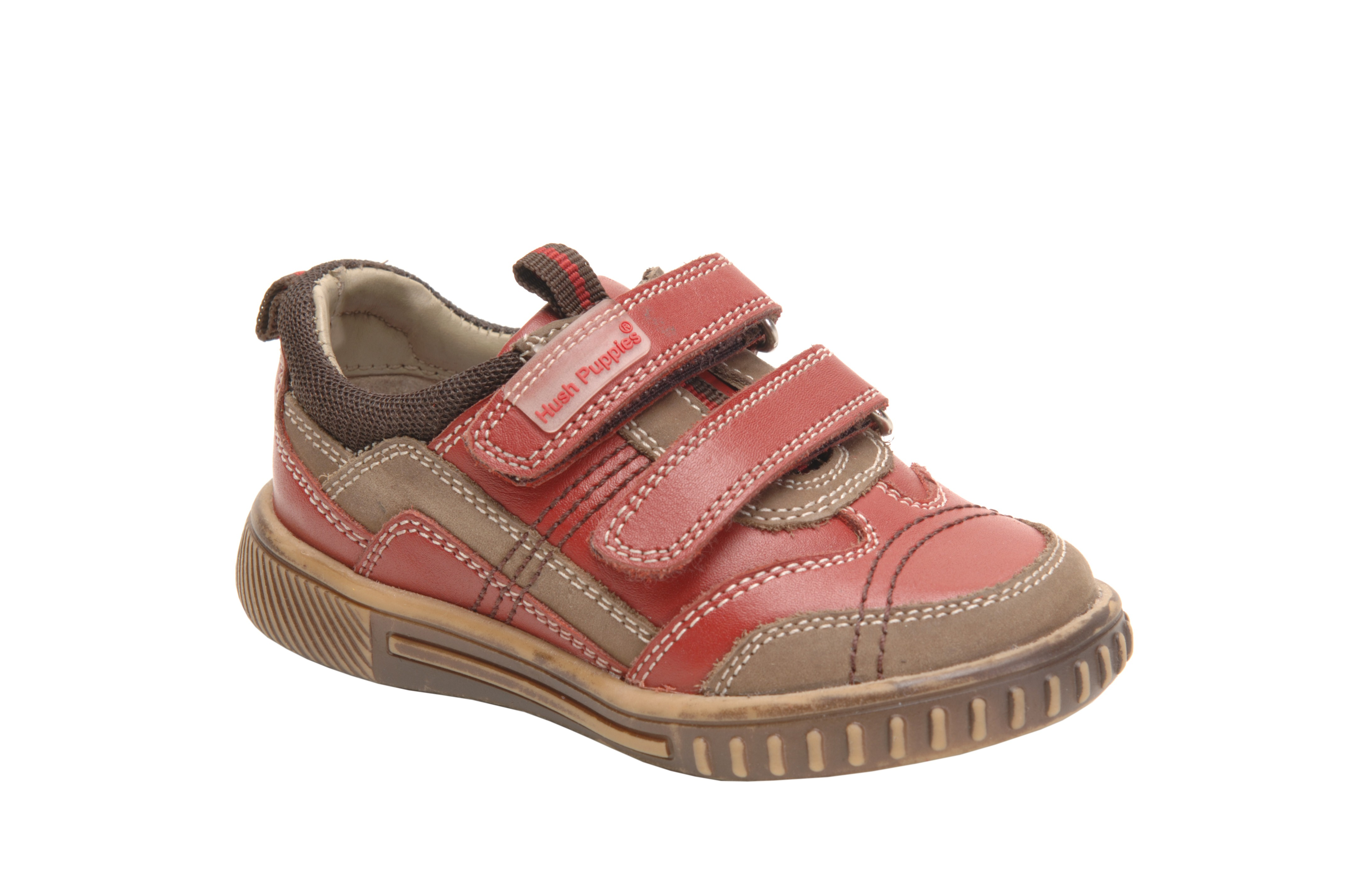 Hush Puppies Lionfish Red Shoes Little Wanderers