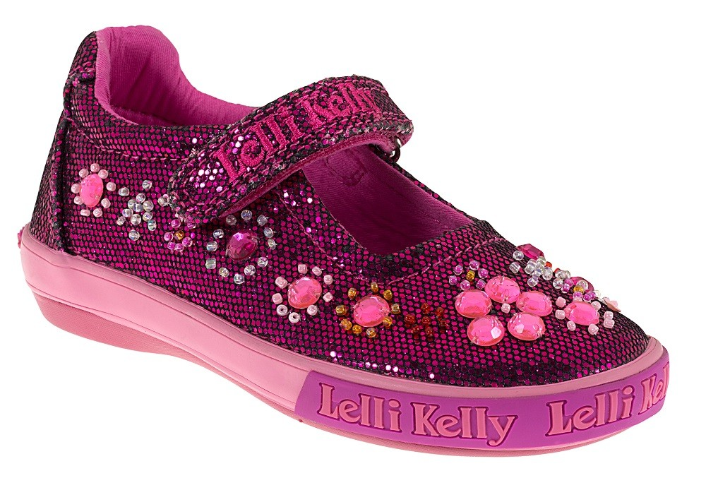 lelli rachele pink glitter shoes wanderers